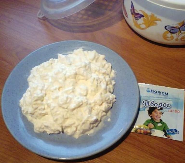 Как сделать домашний творог из молока с закваской